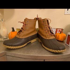 """L.L. Bean Boots 8"""" Duck Boots 10M LL Bean"""